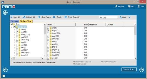 Recover Data from RAW Partition on Windows 7 - View Recovered Data